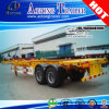 Top Sale 2 Axles 20FT Frame Skeleton Semi Trailer Chassis Trailer