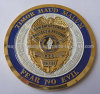 Customized Soft Enamel Bevel Cut Edge Challenge Coin