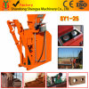 Semi-Automatic Hydraulic Clay/Soil/Earth Interlock Brick Moulding Machine (SY1-25)