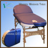 Wood Massage Bed (Oval Corner) & Nuga Best Bed, High Quality Solid Wood Massage Table