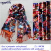 Digital Printed Polyester Two Layer Scarf for Woven (MY03009)