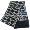 Cotton/ Acrylic Knitted Scarf Jacquard Scarf (KS-070057)