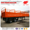 Cargo Box Skeletal Semi Trailer with Spare Tire Rack