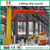 Warehouse 3t Crane Electric Hoist Lifting Jib Crane