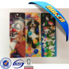 2015 Newest 3D Clear Plastic Bookmarks