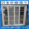 Security Aluminium Industrial Sliding Window with Grille