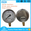 75mm Stainless Steel Case Liquid Oil Pressure Gauge Manometer