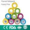 Hydoallergenic Adhesive Elastic Bandage Colorful Cohesive Bandage