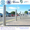 Circular Column Bollards for Bicycles&Bikes Parking Besides The Roads