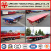 Various Utility Flatbed Semi-Trailer Truck Trailer on Hot Sale