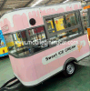 Mini Food Trailer with Beautiful Outlook for Sale