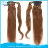 Human Hair Ponytail 100g 120g Straight Virgin Human Hair Ponytail Extensions Clip in Human Hair Drawstring Ponytails