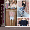 2015 Lady Summer Blouses Chiffon Crop Tops (TKYA309)