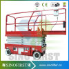 6m 1ton Hydraulic Automatic Driveable Electric Scissor Man Lift