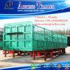 Tri-Axle Cattle Trailer, Livestock Transport Fencing Semi Truck Trailer