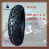 Nylon 6pr Super Quality, Tubeless Motorcycle Tire 100/80-14tl, 130/90-15tl