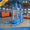 200kg 8m Aluminum Telescopic Man Inclined Platform Lift