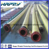 Spiral Reinforced Rubber Suction Hose with Steel Flanges