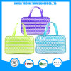 Wave Printed PVC Tote Travel Toilet Toiletry Wash Bag