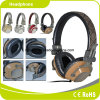 Brown Mobile Accessories Metal Sport Stereo Headphone