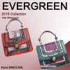 2017 New Style Color Collision Hand Bag Genuine Leather Handbag Crocodile Handbags Ladies Shoulder Bags Fashion Handbag Designer Hand Bag Leather Bags Emg5266