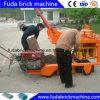 Mobile Diesel Concrete Hollow Block Making Machine Qm4-45