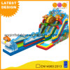 Ocean Theme Long Inflatable Water Slide for Beach (AQ01754-1)
