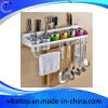Multi-Function Kitchen Storage Shelf Space Saving Stainless Steel Parts