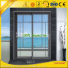 Extruded Aluminium Sections for Sliding Doors with Powder Coated Finish