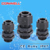 Plastic Polyamide M22 PVC Electrical Cable Glands Connector Pg21