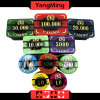 760PCS New Design Poker Chip / Acrylic Chips Premium Bronzing Casino Chip Set Ym-Lctj003