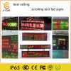 P10 Green Color Programmable LED Display LED Scrolling Sign