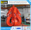 Motor Electric Hydraulic grab bucket rubbish scrap rock orange peel grab