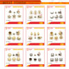 Jinzi Bag Accessories New Products Rivet Series Metal Double Rivets