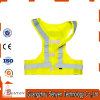 Yellow Reflective Safety Running Vest for Road Safety Protection