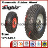 Qingdao High Quality Semi Pneumatic 5 Inch Rubber Wheel