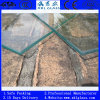 Clear Tempered Glass with Polished Edge