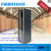 Finen Glass Front Door 19'' Network Cabinet