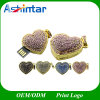 Crystal Heart USB Pendrive Thumbdrive Jewelry USB Flash Drive