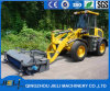 Jieli 1.6ton Warehouse Loader with Road Sweeper for Cleaning Road
