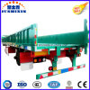 Hot Customized One Axle Enclosed Side Wall/Drop Side/Fence/Side Board Semi Trailer to Transport Container