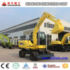 China New Wheel Hydraulic Excavator Mini Digger 6ton, Xn65-4L