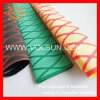 Yellow X Pattern Heat Shrinkable Sleeve for Fishing Rod