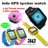 3G Touch Screen Kids GPS Watch with Camera and Sos for Help (D18)