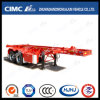 20FT 3axle High Tensile Steel Skeleton Container Semi Trailer