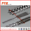 PP PE Recycled Screw Barrel Recycling Twin Screw Barrel