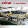 Tire Pre-Shredding & Recycling Plant / System