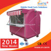 Good Selling Model Hot Food Vending Cart with Slide Windows