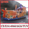 Lily Toys Hot Sell Inflatable Pirate Boat Combo/ Pirate Slide