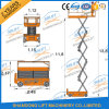 Electric Battery Power Scissor Lift Self Propelled Mobile Lift